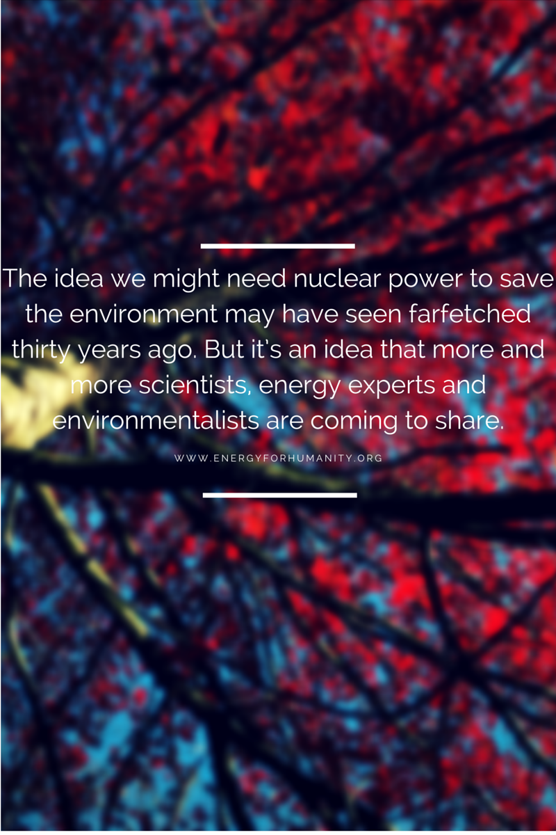 why the world need nuclear energy Nuclear power produces around 11% of the world's energy needs, and produces  huge amounts of energy from small amounts of fuel, without the pollution that.