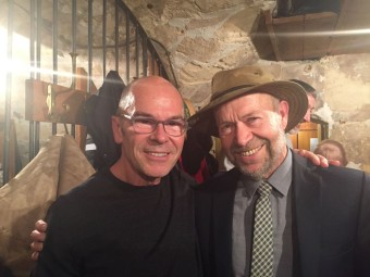 Film Maker Robert Stone with Dr. James Hansen