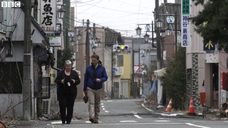 Gerry Thomas in Fukushima